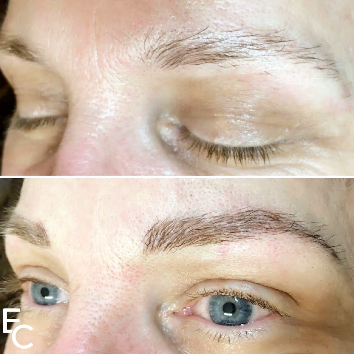 eyebrow tattoo correction work