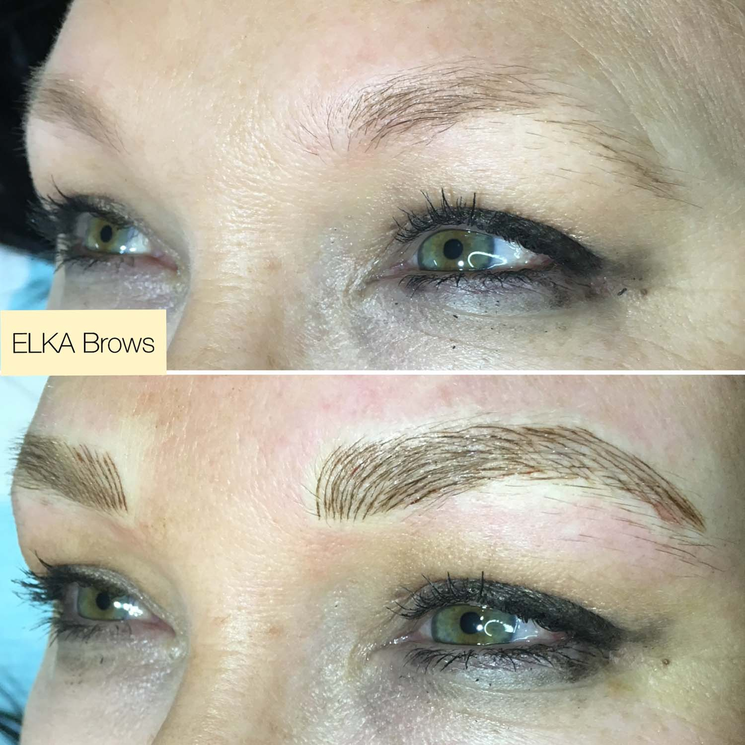 eyebrow tattoo by Elka Clinic