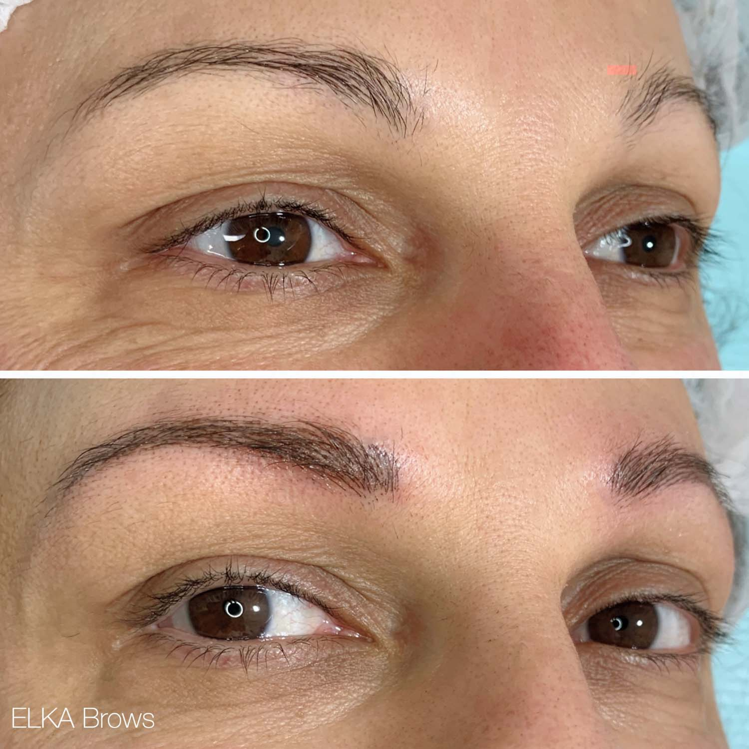 nano brows or permanent make up
