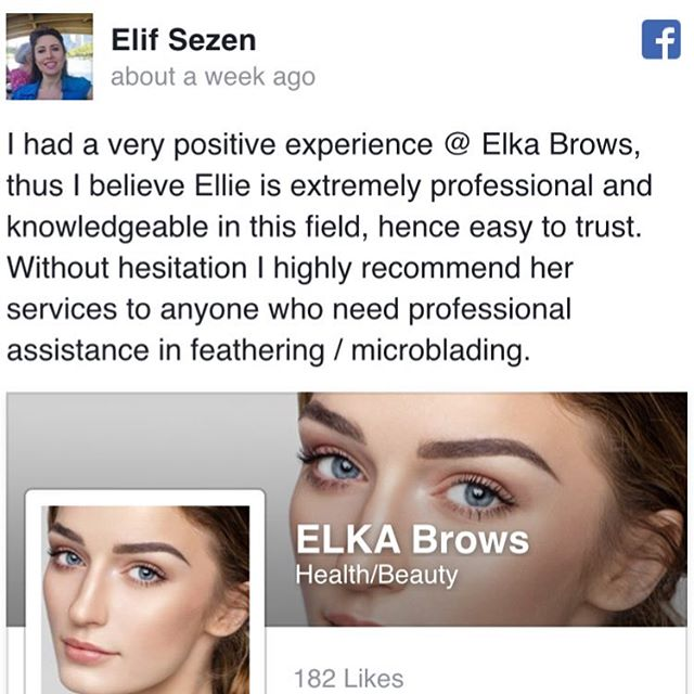 eyebrow feathering and microblading review