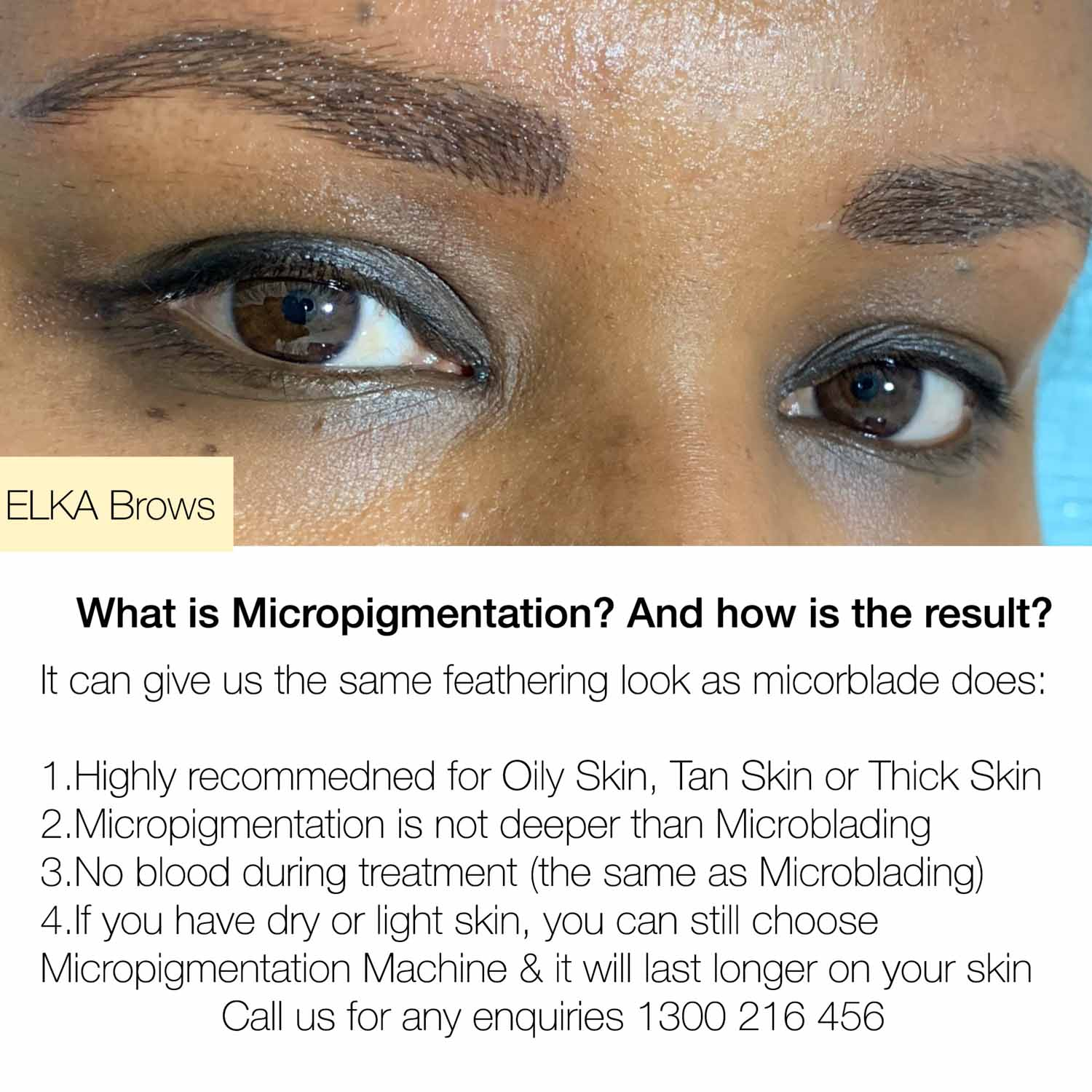 eyebrow micropigmentation