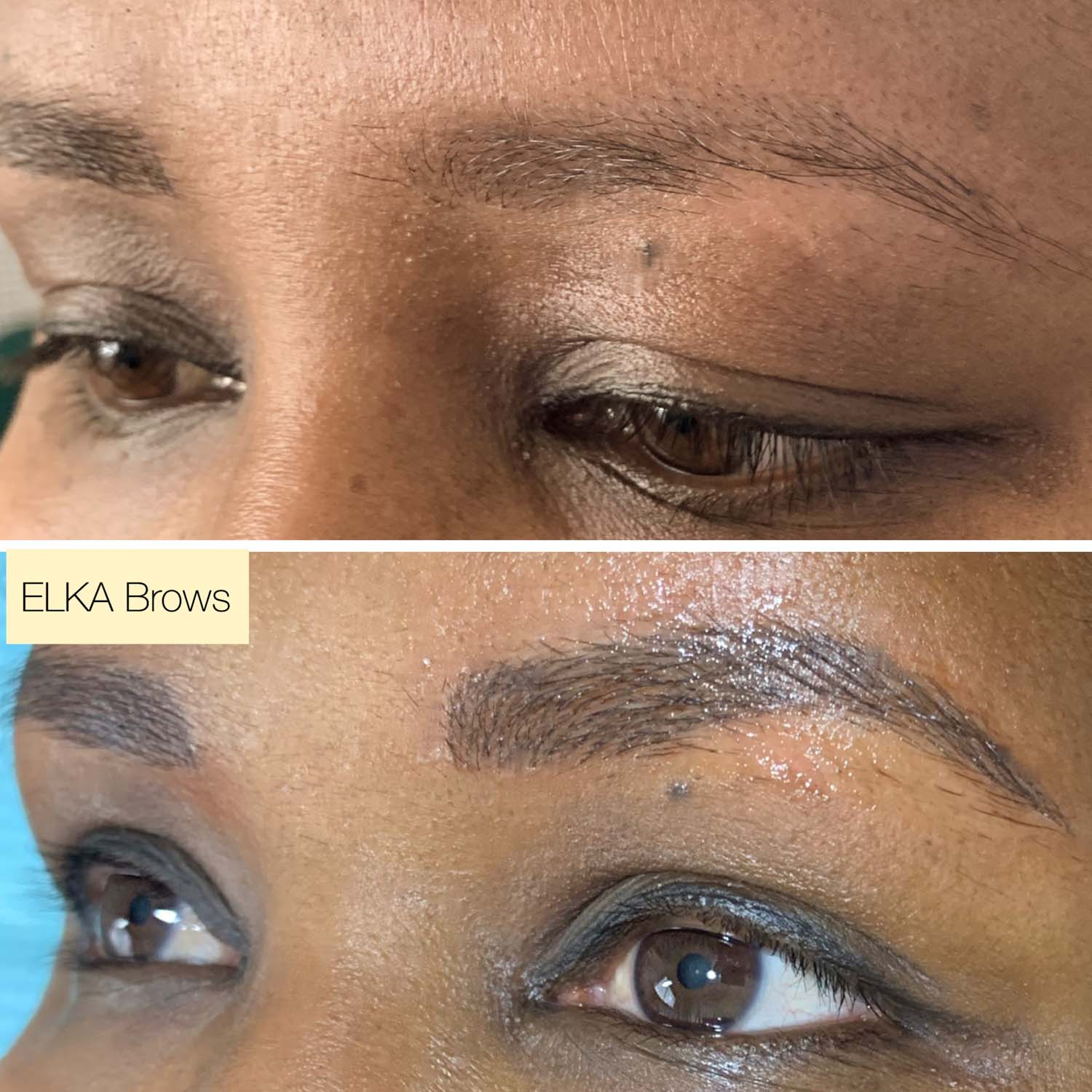powder brows by Elka Clinic