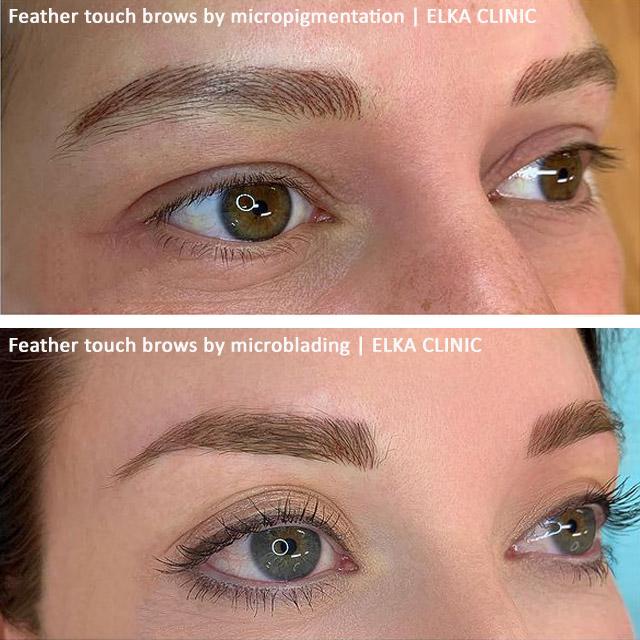 eyebrow hair stroke patterns